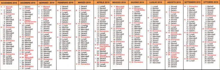 Calendario Accademico Unisalento.Dip Scienze Dell Economia Calendario Accademico
